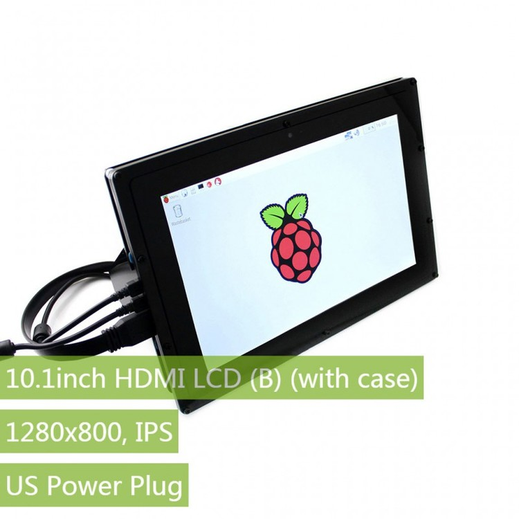 10.1inch HDMI LCD (with case), 1280×800, IPS