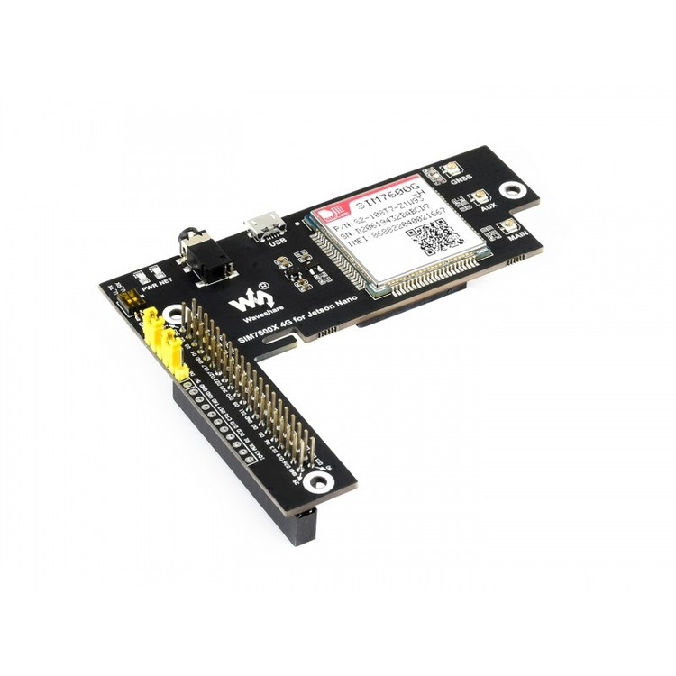 4G/3G/2G/GNSS Expansion Board for Jetson Nano, Based on SIM7600G-H, Global Applicable