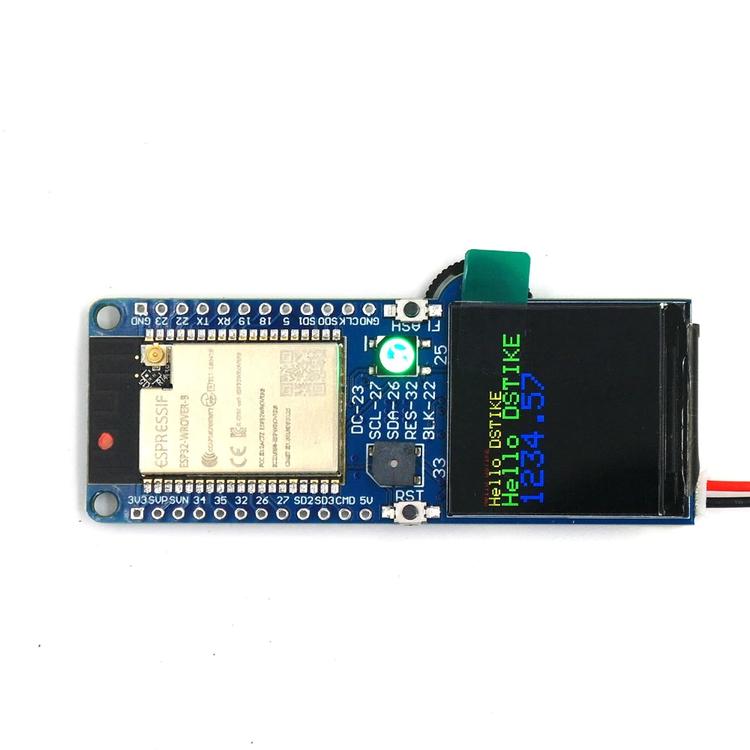 DSTIKE D-duino-32 XS ESP32 TFT Color LCD