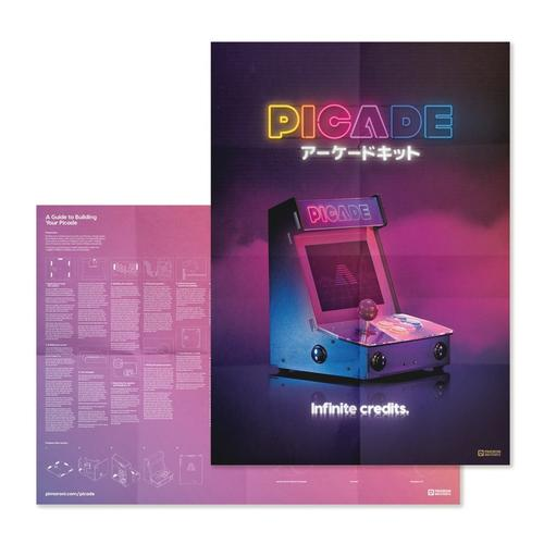 Picade - Raspberry Pi 4 Arcade Machine 8 inch