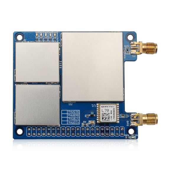 Dragino 10 channels - LoRaWAN GPS Concentrator for Raspberry Pi