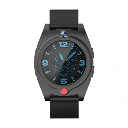 4G elderly smart GPS smart watch with SOS button and fall down detector