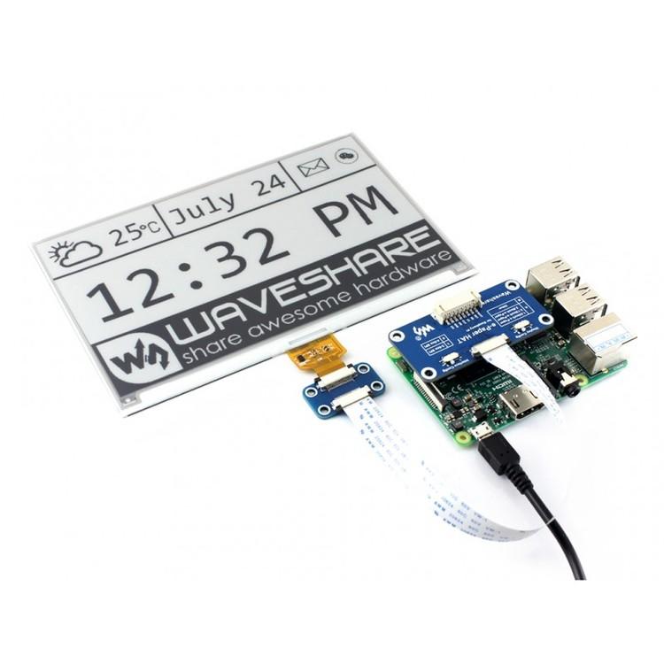 Universal e-Paper Raw Panel Driver HAT