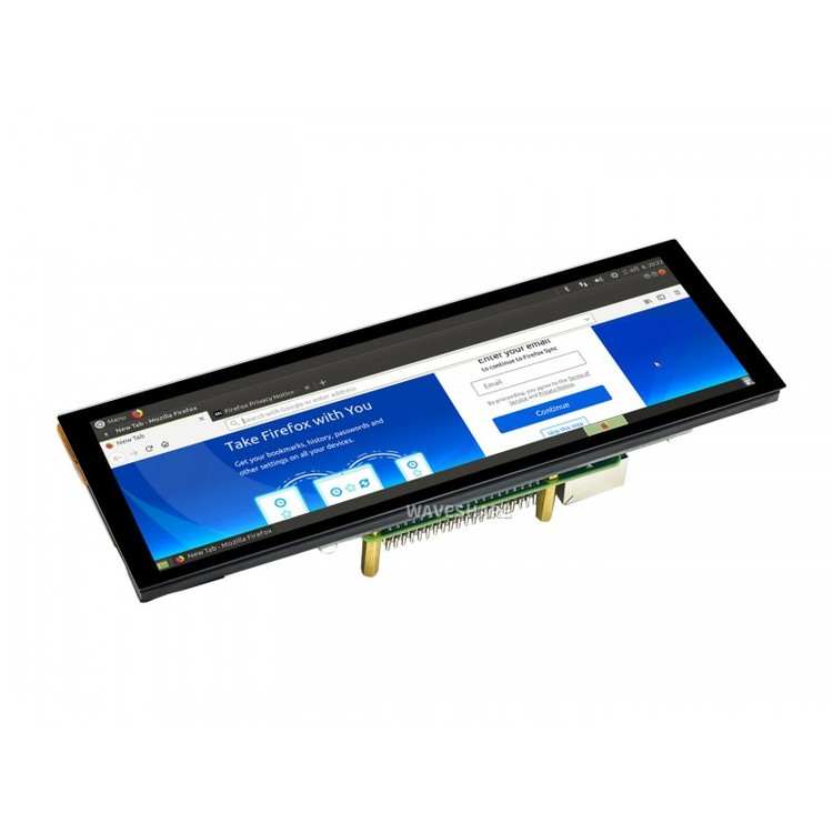 7.9inch Capacitive Touch Screen LCD, 400×1280, HDMI, IPS