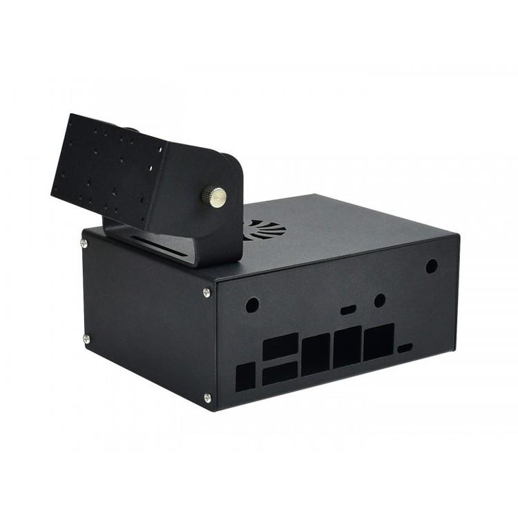 Jetson Nano Metal Case (C), Camera Holder, Internal Fan Design