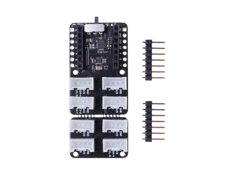 Grove Shield for Seeeduino XIAO - with embedded battery management chip