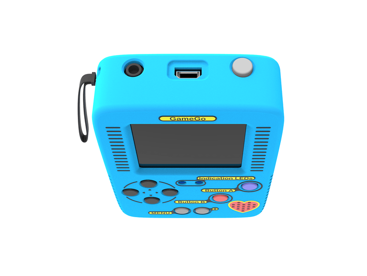 GameGo - handheld console, code your own games with MakeCode