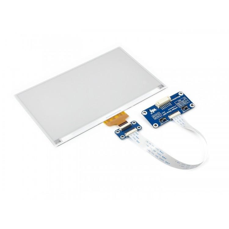 7.5inch HD e-Paper HAT for Raspberry Pi  three colours 880×528