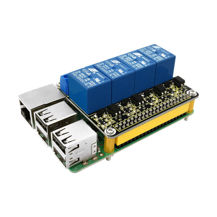 RPI 4channel-Relay 5V Shield for Raspberry Pi