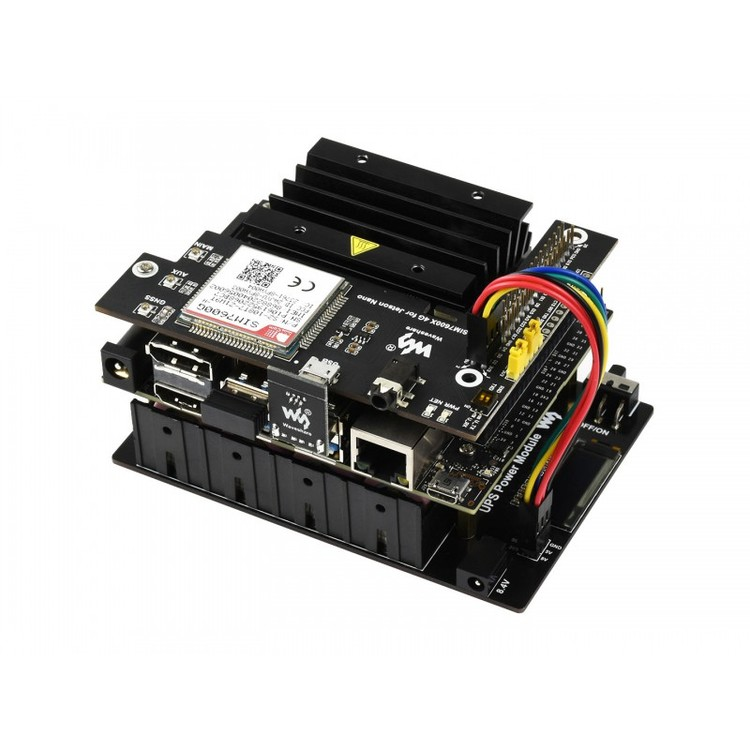 Uninterruptible Power Supply UPS Module For Jetson Nano, Stable 5V Power Output