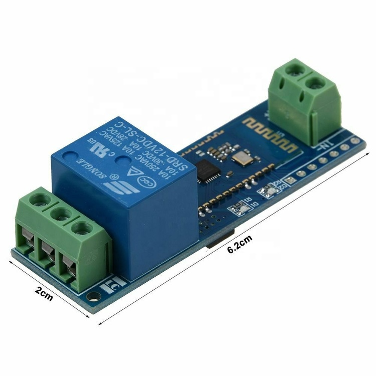 12V Bluetooth Relay Module Remote Control Switch IOT Wireless Module