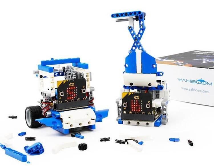 Building:bit Super kit Programmable building block kit Based on Micro:bit