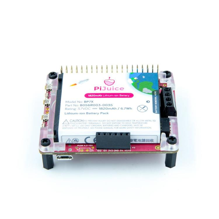 PiJuice HAT - A Portable Power Platform For Every Raspberry Pi