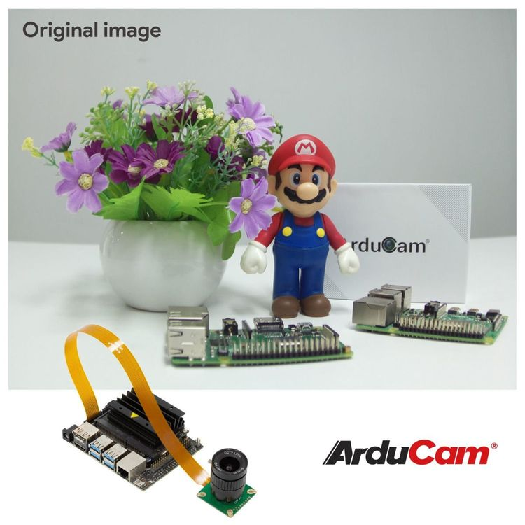Arducam High Quality Camera for Jetson Nano and Xavier NX, 12.3MP 1/2.3 Inch IMX477 HQ Camera Module with 6mm CS-Mount Lens