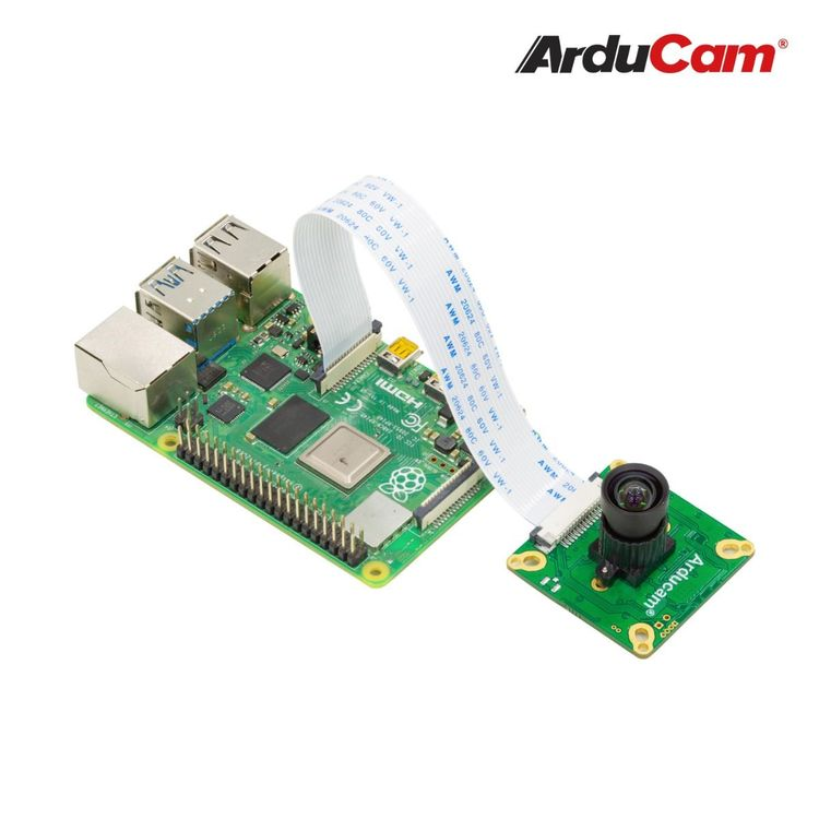 Arducam 13MP AR1335 OBISP MIPI Camera Module with M12 Mount Lens for Raspberry Pi, and Jetson Nano