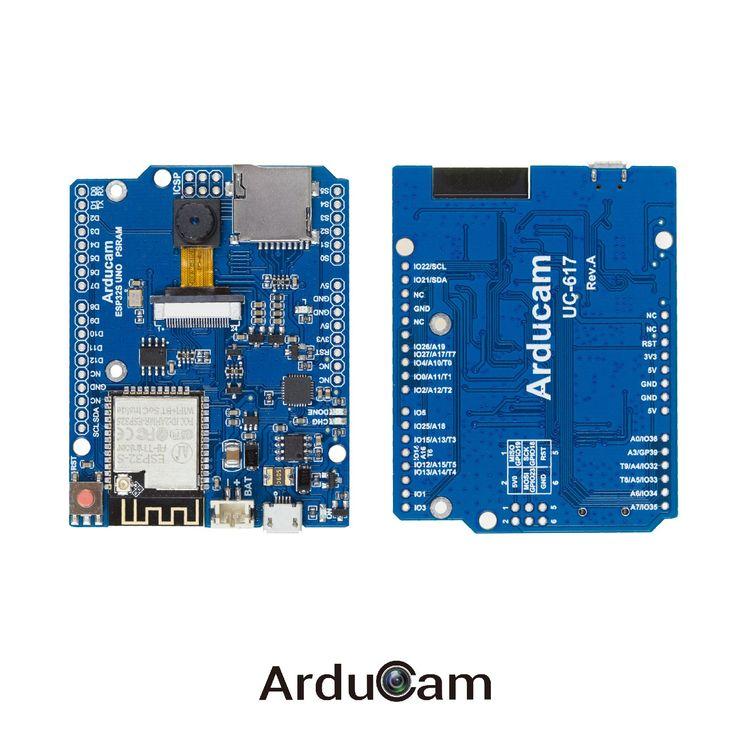 Arducam IoTai ESP32 CAM WiFi Bluetooth for compatibel with Arduino UNO