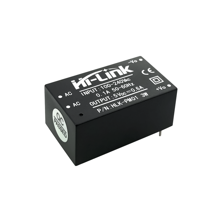 HLK-PM01 3W AC-DC 220V to 5V Step-Down Switching Power Supply Module