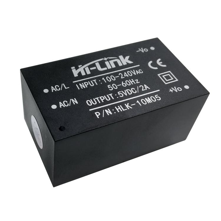 HLK-10M05 ac dc power converter isolated output 100-240V  to 5V 2A 10W