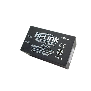 HLK-10M12 AC DC 220V to 12V 10W isolated intelligent mini power supply module for smart device