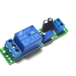 Delay switch 12v module with power led indication