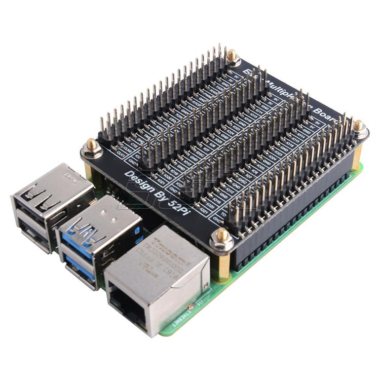 52Pi For Raspberry PI GPIO Expansion Board Breadboard Easy Multiplexing Board