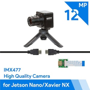 Arducam Complete High Quality Camera Bundle for Jetson Nano/Xavier NX, 12.3MP 1/2.3 Inch IMX477