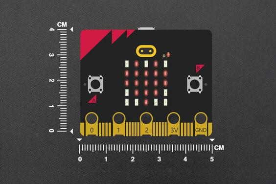 micro:bit v2 - with speaker, microphone, accelerometer, 2.4GHz radio/ BLE 5.0