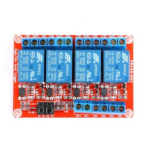 4 channels Relay Module Optocoupler Isolation High and Low Level
