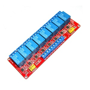 8 Channel Relay Module with Optocoupler Support High and Low Level Trigger