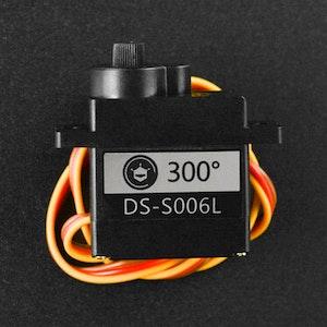 9g 300° Clutch Servo