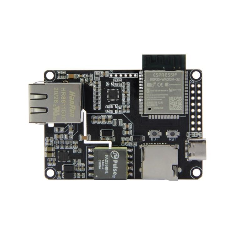 LILYGO® TTGO T-Internet-POE ESP32-WROOM LAN8720A Chip Ethernet Adapter with downloader