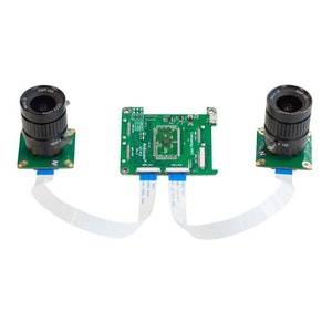 Arducam 12MP*2 Synchronized Stereo Camera Bundle Kit for Nvidia Jetson Nano and Xavier NX