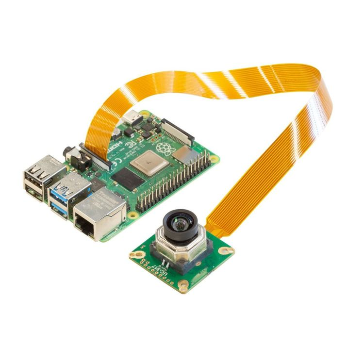 Arducam 12MP IMX477 Motorized Focus High Quality Camera for Raspberry Pi
