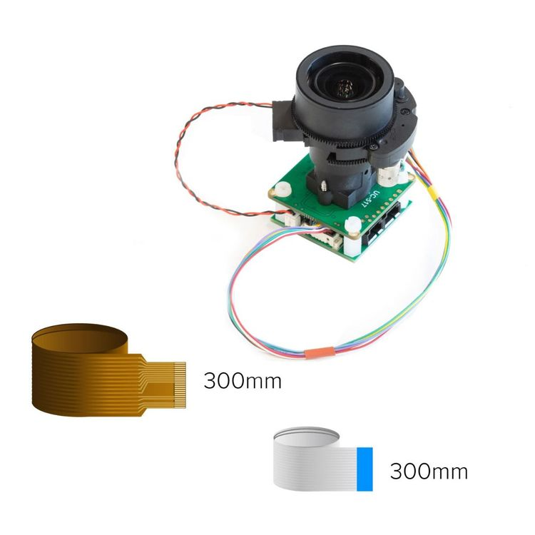 Arducam 12MP IMX477 Pan Tilt Zoom(PTZ) Camera for Raspberry Pi 4 and Jetson Nano