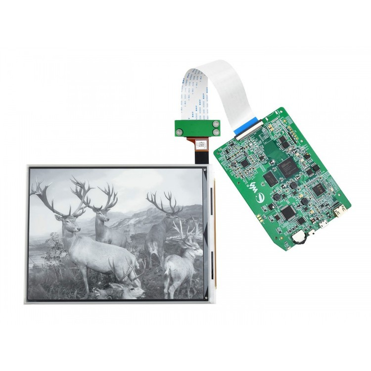 7.8inch E-Paper E-Ink Display, HDMI Display Interface, 1872×1404 Pixels
