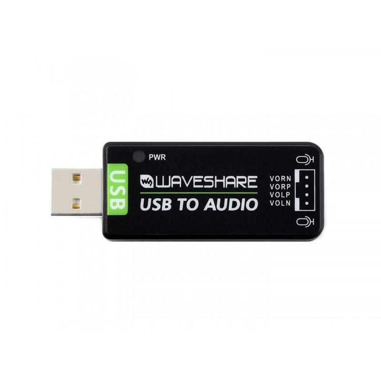 USB Sound Card, Driver-Free, for Raspberry Pi / Jetson Nano