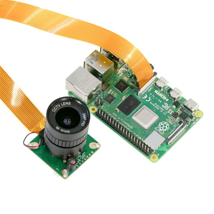 Arducam High Quality IR-CUT Camera for Raspberry Pi 12.3MP 1/2.3 Inch IMX477 HQ Camera Module with 6mm CS