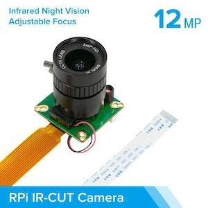 Arducam High Quality IR-CUT Camera for Raspberry Pi 12.3MP 1/2.3 Inch IMX477 HQ Camera Module with 6mm CS