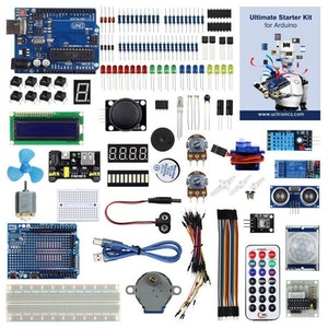 UCTRONICS Advanced Starter Kit Arduino compatible with Instruction Booklet