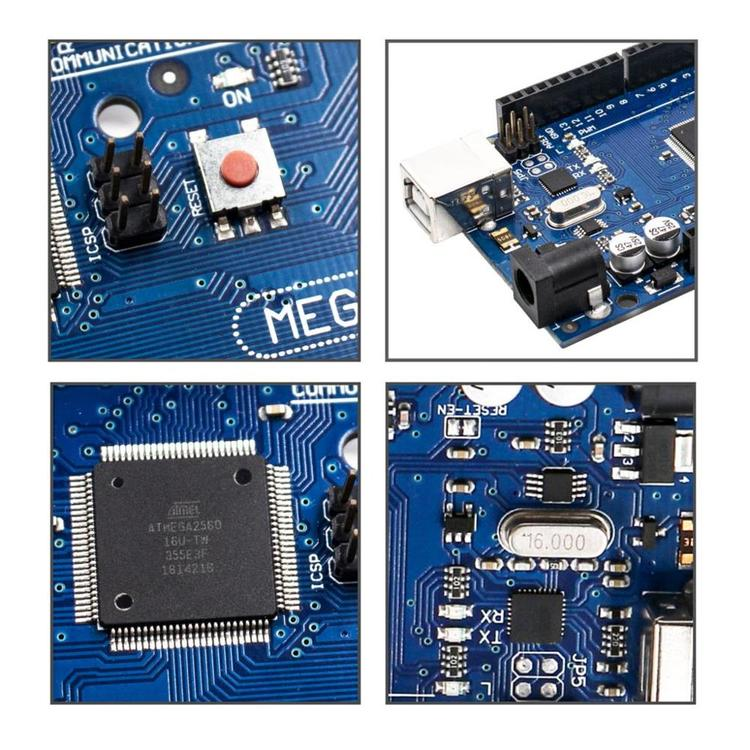 Mega 2560 R3 Board with USB Cable