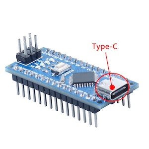 NANO V3 CH340 ATMEGA328  with USB Type-C