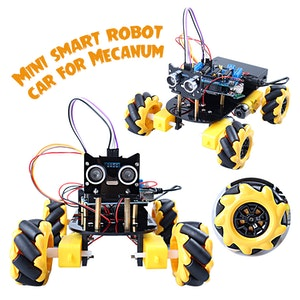 Mecanum 4WD Car Chassis Smart Robot Car Arduino compatible