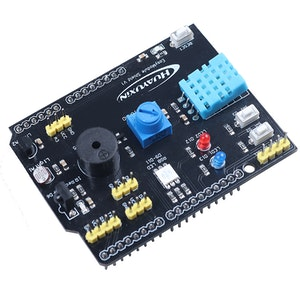 Expansion Board DHT11 LM35 Temperature Humidity LM35 Module Arduino compatible