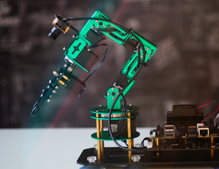 Yahboom DOFBOT AI Vision Robotic Arm with ROS for Jetson NANO 4GB B01