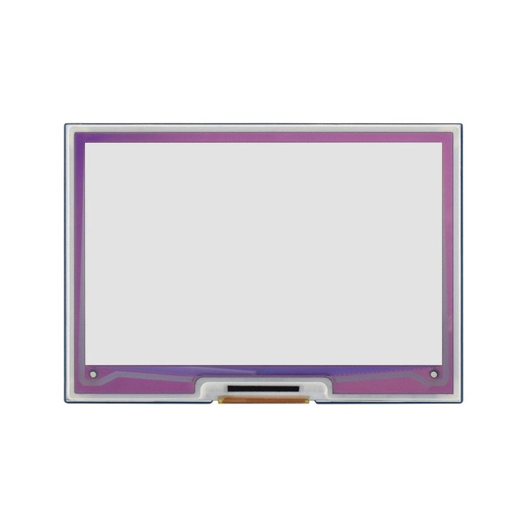 4.01inch ACeP 7-Color E-Paper E-Ink Display HAT for Raspberry Pi, 640×400 Pixels