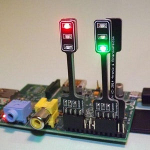 Pi-Stop Educational Traffic Light for Raspberry Pi