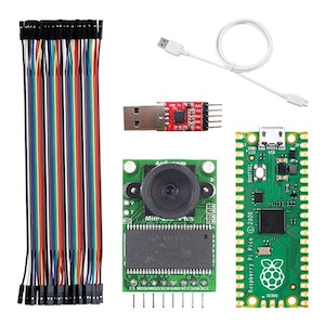 UCTRONICS Tiny Machine Learning Person Detection Bundle for Raspberry Pi Pico