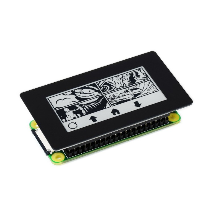 2.13inch Touch e-Paper HAT for Raspberry Pi, 250×122, Black / White, SPI