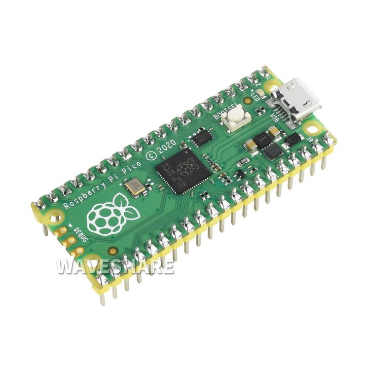 Raspberry Pi Pico with pre-soldered header kit
