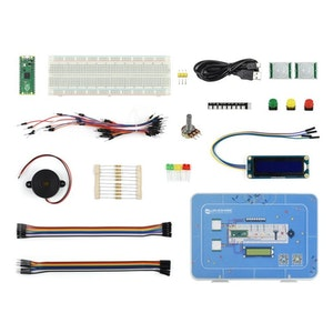 Raspberry Pi Pico Basic Kit, MicroPython Programming Learning Kit